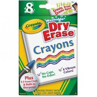 Crayola Dry Erase Crayons (Crayola Washable Dry Erase)