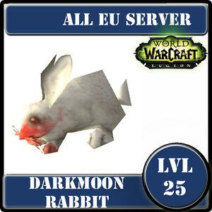 Darkmoon Rabbit / WoW Battle Pet lvl 25 / All EU Server / World Of Warcraft - France - État : Neuf: Objet neuf et intact, n'ayant jamais servi, non ouvert, vendu dans son emballage d'origine (lorsqu'il y en a un). L'emballage doit tre le mme que celui de l'objet vendu en magasin, sauf si l'objet a été emballé par le fabricant d - France