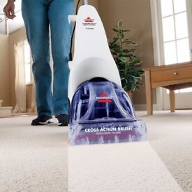 BISSELL CLEANVIEW QUICKWASH CARPET SHAMPOO CLEANER
