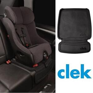 NEW CLEK CAR SEAT PROTECTOR MAT VEHICLE CAR ACCESSORIES - 19.6 x 18.8 x 1.6 inches 108986214