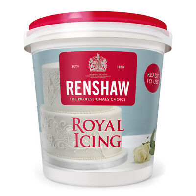 Royal Icing Ready to Use Renshaw Icing - 400g - Free Post