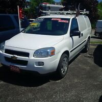 2008 Chevrolet Uplander Commercial Van Priced to Sell.