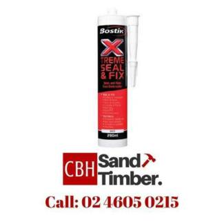 BOSTIK XTREME SEAL & FIX (sealant & adhesive in 1)