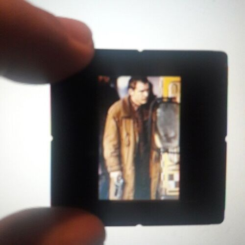 BLADE RUNNER -HARRISON FORD 2 VERY RARE PROMO SLIDES- 35mm-MN-FREE SHIPPING.