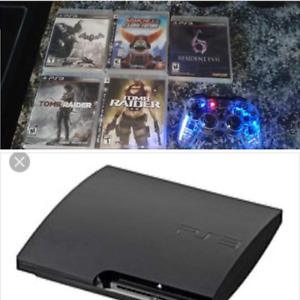 Mint Condition PS3 + Remote+ Games