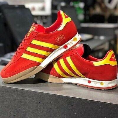 Adidas Originals Kegler Super OG Red Trainers UK 12 **Brand New In Box**