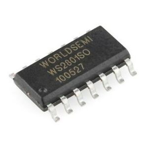 10pc-Worldsemi-WS2801SO-3-Channel-RGB-Constant-Current-PWM-LED-Driver-WS2801