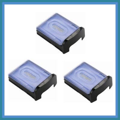 Panasonic Wes035p Electric Razor Cleaning Cartridge Vortex Hydraclean 3 Pack
