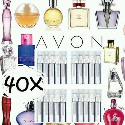 ☆40☆ Avon Ladies/ Womens Fragrance Perfume EDT Samples Assorted  FREE POSTAGE