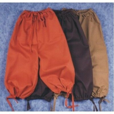 ADULT MALE COLONIAL RENAISSANCE PIRATE KNICKERS PANTS VICTORIAN COSTUME BREECHES - Pirate Adult