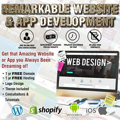 Shopify Or Wordpress Website - Website Design - Web Design