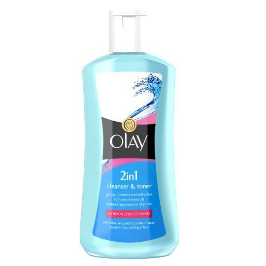 OLAY 2 IN 1 CLEANSER & TONER - 200ML