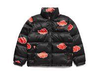*EXCLUSIVE* New Naruto Akatsuki Puffer Jacket (Medium)