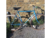 Beautiful Coventry Eagle Mens Flat Bar Road Bike 58cm Large Frame - Classic Vintage Retro - Serviced