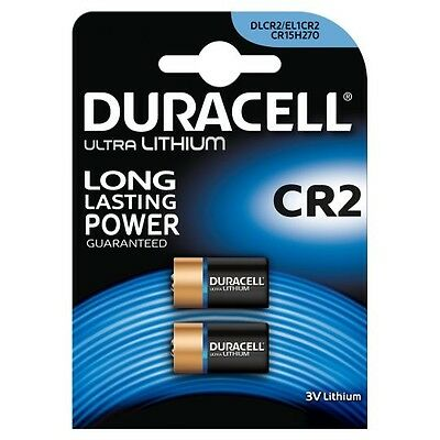 2 x Duracell CR2 Battery for Bushnell V2 Golf Rangefinder 3V Lithium Batteries