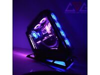 High-End Gaming PC for professionals. Perfect for Video editing and Games-Custom Build. RTX 3090 i9