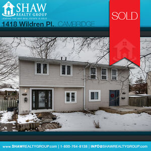 SOLD!!! 3-BEDROOM, 1-BATH HOUSE IN CAMBRIDGE!!
