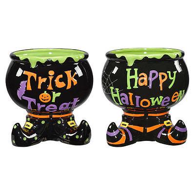 Halloween Candy Bats (HALLOWEEN CANDY DISH DECOR FLORAL ARRANGEMENT WITCH BOOT BOWL BAT SPIDER WEB)