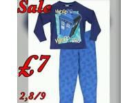 Boys Dr who pyjamas