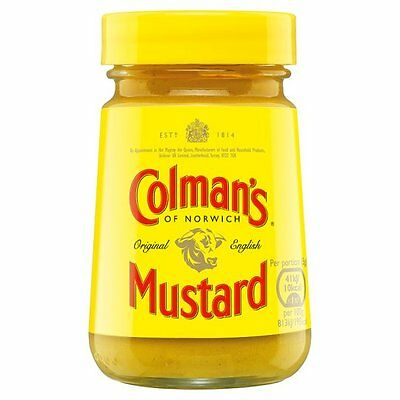 Colman's Original English Mustard 100G Jar  - Sold Worldwide from - Colmans Original English Mustard