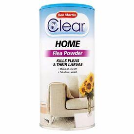 Bob Martin Clear Home Flea Powder: Brand new, sealed