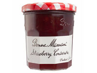 Bonne Maman Jam Jars with lids.