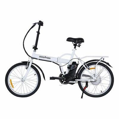 "Bicicleta eléctrica 20"" plegable e-bike bici ebike 250w litio nuevas garantia"
