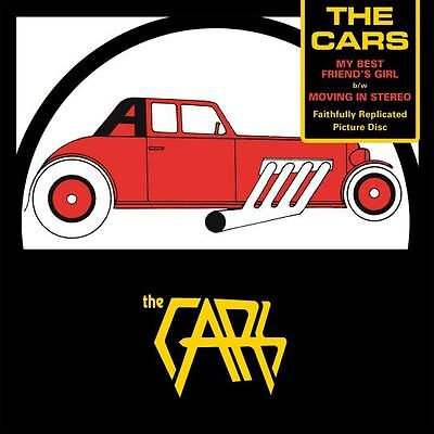 The Cars MY BEST FRIEND'S GIRL/MOVING IN STEREO New Vinyl 7