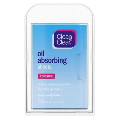 Clean & Clear Oil Absorbing Sheets (50 Sheets) ()