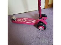 Pink maxi micro scooter deluxe up to 70kg