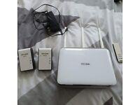 TP-Link Bundle - Fast Archer AC1900 Router etc