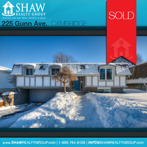 SOLD WITHIN A WEEK!!! Cambridge Kitchener Area image 1