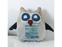 Owl pillow, handmade, owl cushion, throw pillow, home decor, cute, nursery