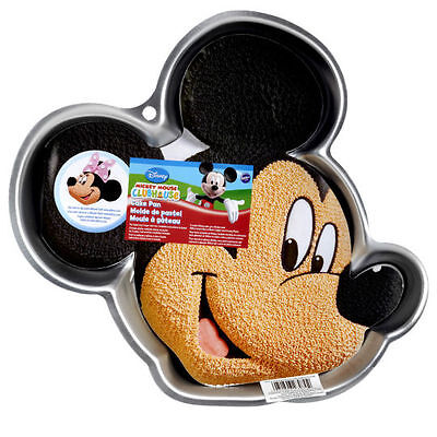 NEW Wilton Disney MICKEY MOUSE Face Birthday CAKE PAN Insert #2105-7070 MINNIE - Mickey Mouse Birthday Cake Pan