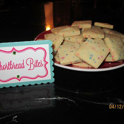 Cookies to Go by Auntie Cher:  Yummy Shortbread Bite Cookie, -
