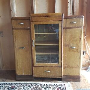 Antique hutch with lots of storage room
