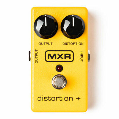 MXR M104 Distortion +, Delivers Everything from Cool Overdriven Blues tones to H