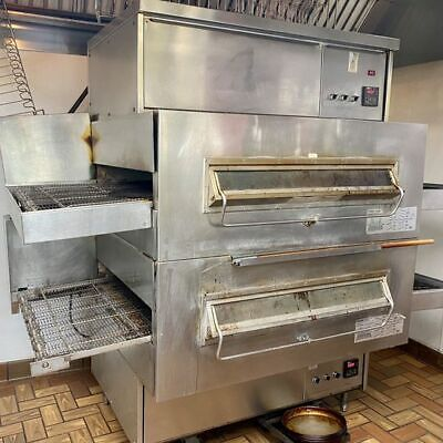 Middleby Marshall Ps360 Double Stack Natural Gas Conveyor Pizza Oven