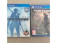 PS4 Special Games Bundle- Tomb Raider