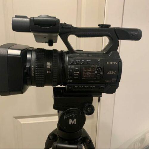 Sony PXWZ150 4K Handheld XDCAM Camcorder - Black