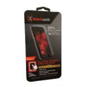 black web glass screen protector brand new $10 for iphone