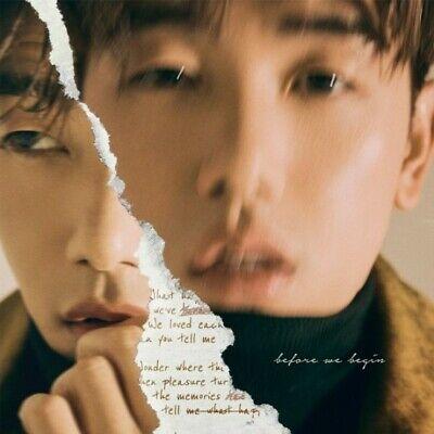 ERIC NAM [BEFORE WE BEGIN] Album CD+Photo Book+Post Card K-POP SEALED