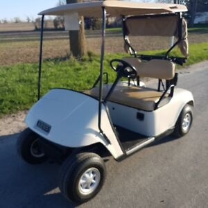 2009 ezgo golf cart comes with charger ready to go