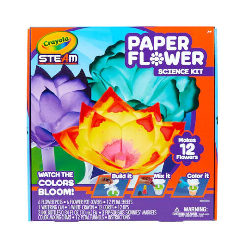 Crayola® S.T.E.A.M Paper Flower Science Kit