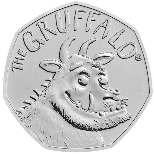 2019 The Gruffalo Fifty Pence 50p Coin Brilliant Uncirculated BU UK