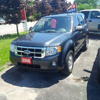 2008 Ford Escape XLT FWD LEATHER LOADED