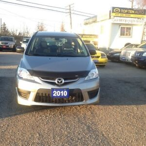2010 Mazda MAZDA5 PERFECT FOR UBER DRIVERS LOW KM CERTIFIED