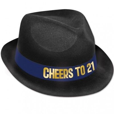 21st Birthday Hats (21st Birthday Cheers to 21 Hat Adult Fits)