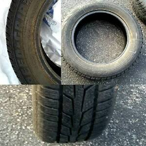 Two gently used snow tires London Ontario image 1