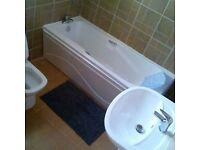 QUALIFIED NVQ 2 PLUMBER AND GAS QUALIFIED LOOKING FOR WORK .